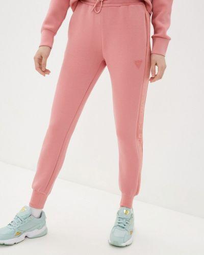 Розовые спортивные брюки Guess Jeans