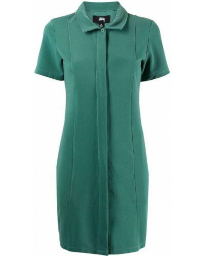 Платье мини короткое - зеленое Stussy