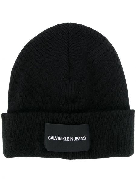 Czapka z logo czarny Ck Calvin Klein