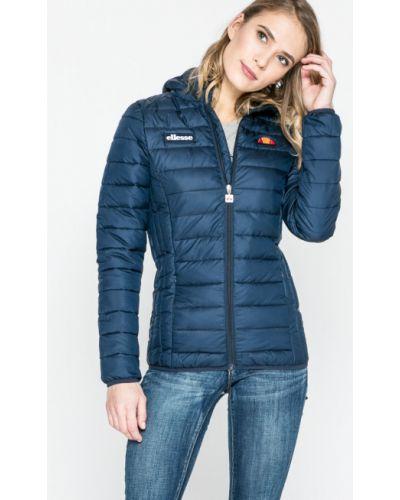 Długo kurtka z kieszeniami niebieski Ellesse