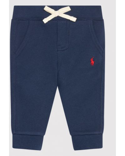 Spodnie dresowe - granatowe Polo Ralph Lauren