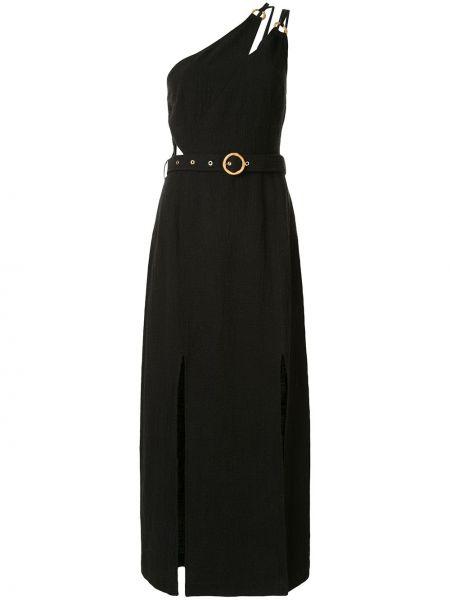Хлопковое платье - черное Suboo