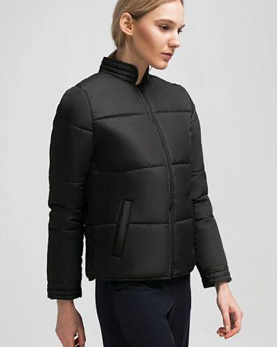 Утепленная куртка весенняя черная Grass
