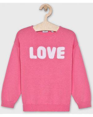 Тонкий розовый свитер Blukids