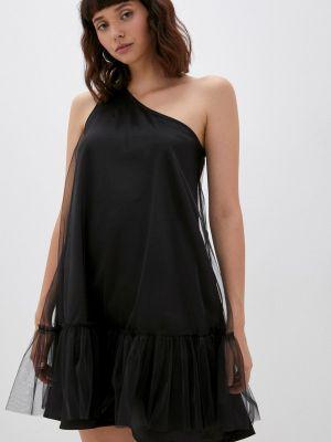 Черное вечернее платье осеннее M,a,k You Are Beautiful
