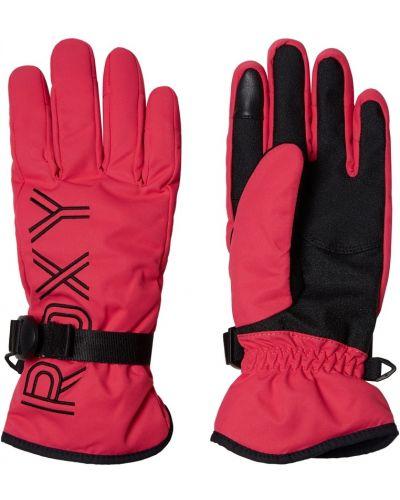 Перчатки фуксия розовый Roxy
