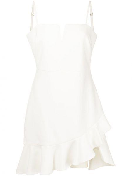 Biała sukienka z dekoltem w serek Likely