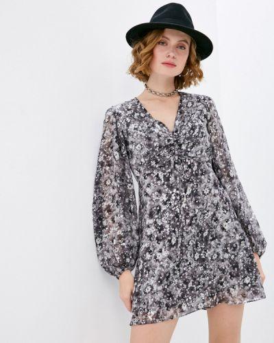 Повседневное серое платье The Kooples