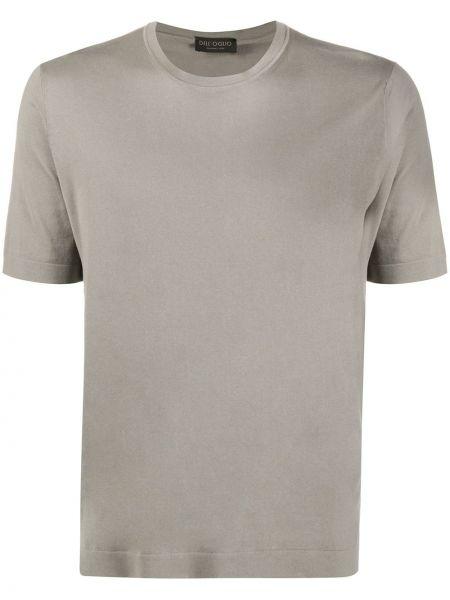 Koszula krótkie z krótkim rękawem prosto światło Dell'oglio