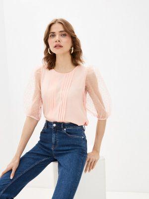 Розовая блузка с длинными рукавами Bruebeck