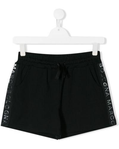 Черные шорты Marco Bologna Kids