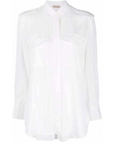 Biała koszula z długimi rękawami Blanca Vita
