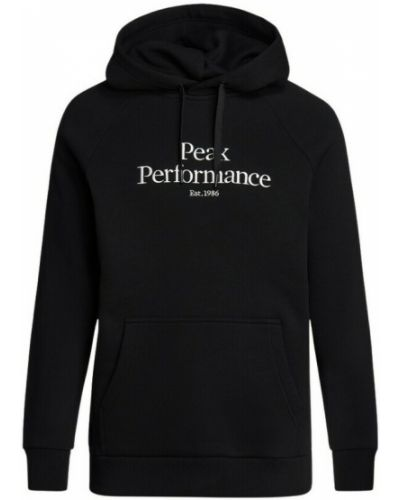 Czarna bluza Peak Performance