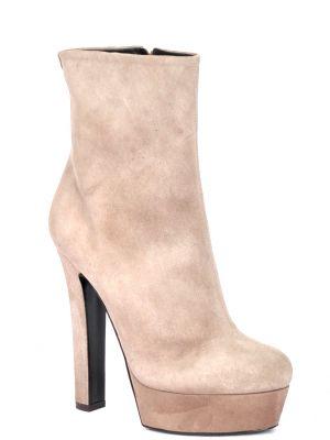 Кожаные ботинки - серые Vicini