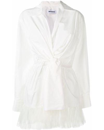 Блузка с запахом с поясом Brognano