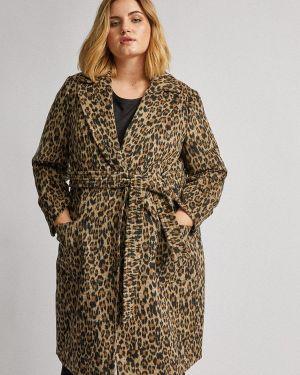 Пальто демисезонное бежевое Dorothy Perkins Curve