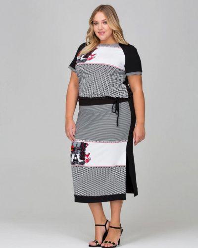Платье весеннее серое Intikoma