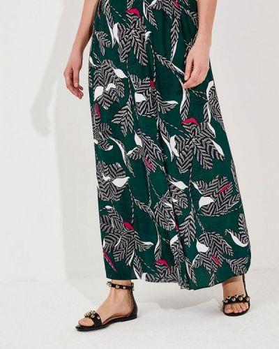 Зеленая юбка льняная Persona By Marina Rinaldi