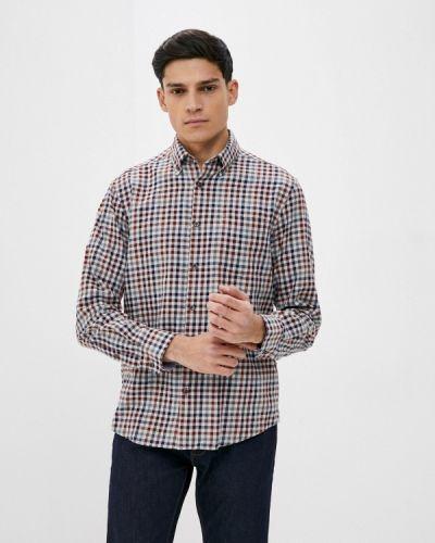 Бежевая рубашка с длинными рукавами Marks & Spencer