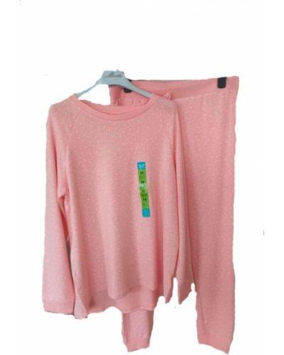 Трикотажная пижама - розовая Primark