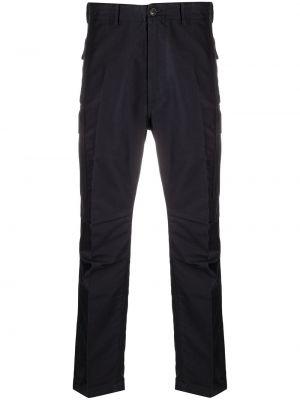 Bawełna spodni niebieski bojówki z kieszeniami Tom Ford