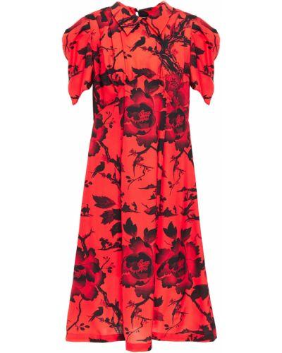 Платье из крепа Mcq Alexander Mcqueen