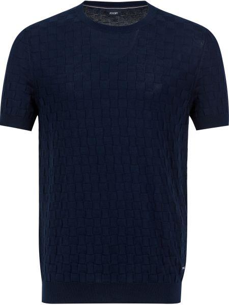 Хлопковая футболка - синяя Joop!