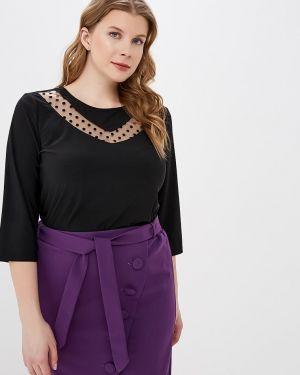 Блузка с кокеткой шелковая Dream World