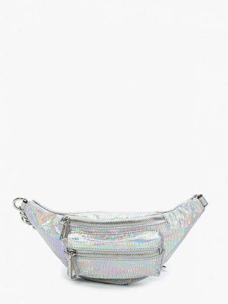 Поясная сумка весенний серебряный Aldo