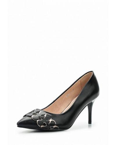 Туфли-лодочки кожаные на каблуке Betsy