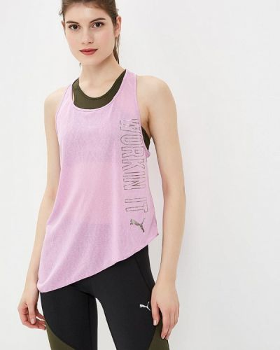 Майка спортивная фиолетовый Puma