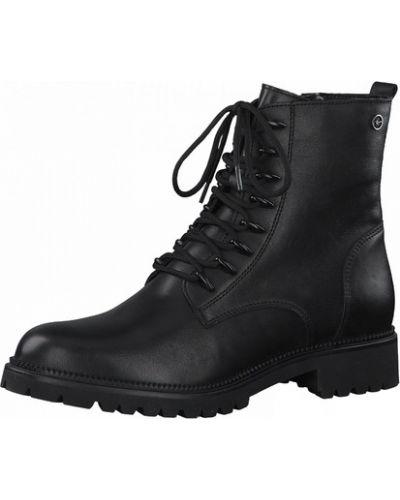 Ботинки - черные Tamaris