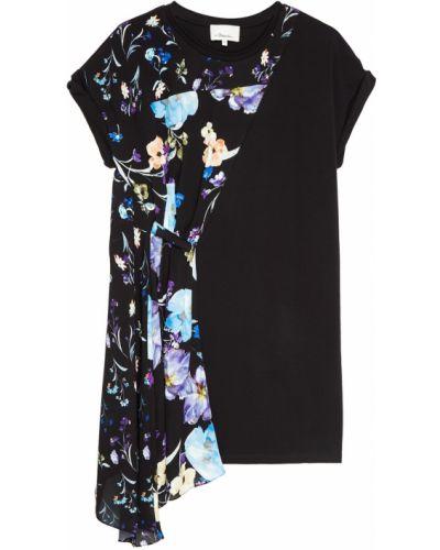 Платье с поясом футболка с цветочным принтом 3.1 Phillip Lim