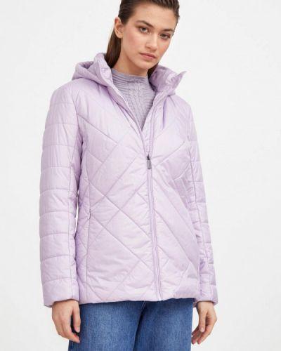 Свободная фиолетовая утепленная куртка Finn Flare