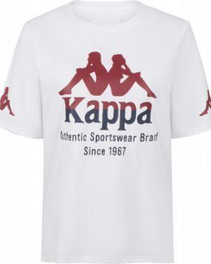Спортивная футболка с логотипом футбольный Kappa