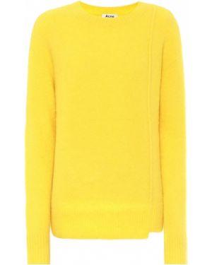 Желтый свитер Acne Studios