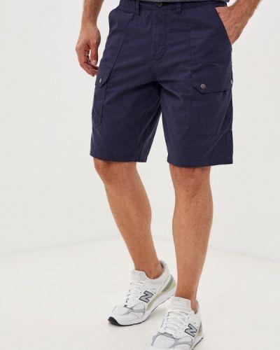 Повседневные синие шорты Burton Menswear London