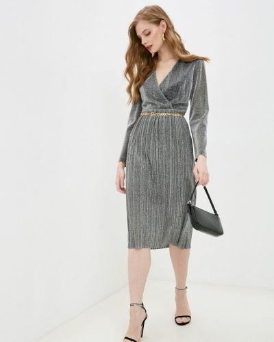 Вечернее платье - серебряное Villagi
