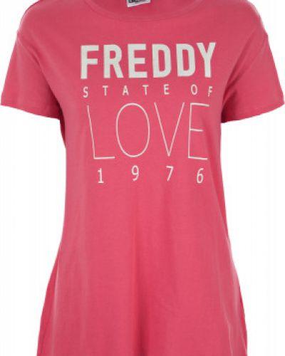 Спортивная футболка прямая хлопковая Freddy