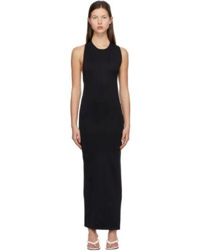 Czarna sukienka asymetryczna bez rękawów Simon Miller