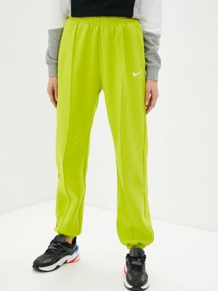 Спортивные брюки весенний желтый Nike