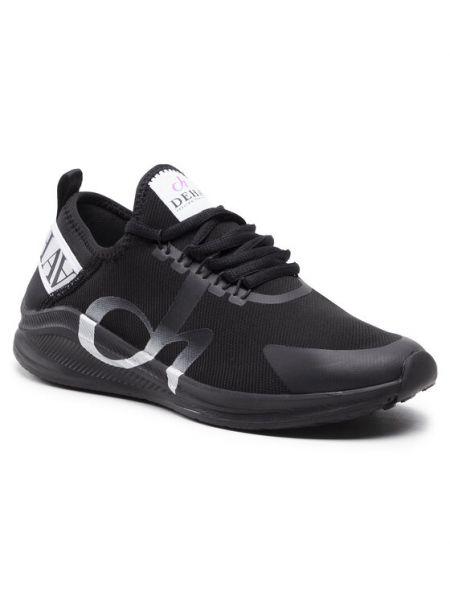 Czarne sneakersy Deha