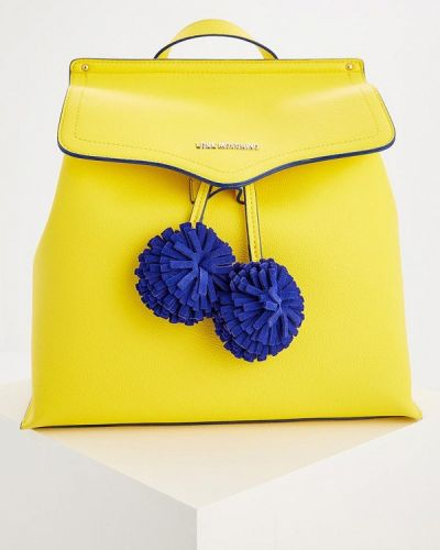 Желтый рюкзак Love Moschino