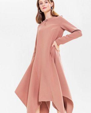Платье розовое прямое Lavlan