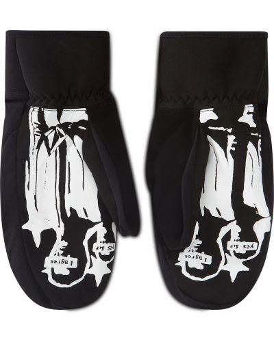 Czarne rękawiczki z nylonu Volcom