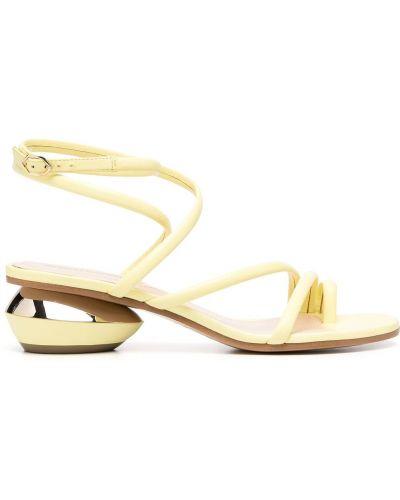 Sandały, żółty Nicholas Kirkwood