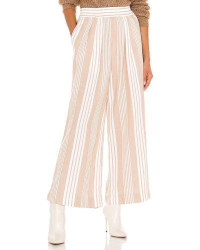 Bawełna bawełna spodnie palazzo z kieszeniami w połowie kolana Mara Hoffman