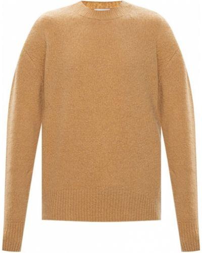 Z kaszmiru sweter - beżowy Kenzo