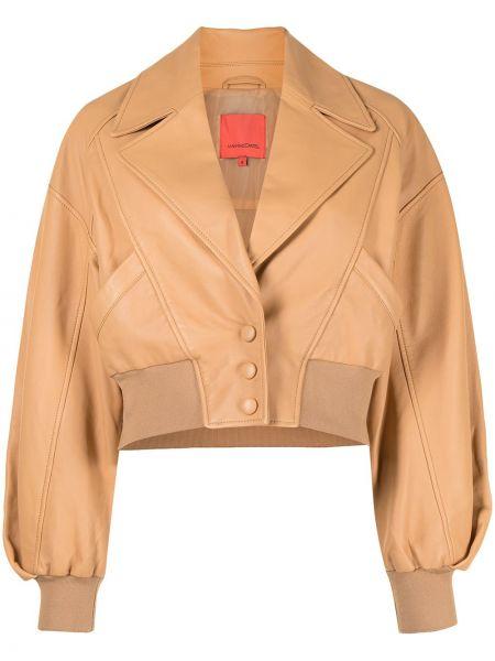 Коричневая куртка с подкладкой на пуговицах Manning Cartell