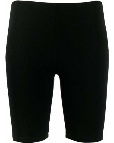 Облегающие черные шорты Paco Rabanne